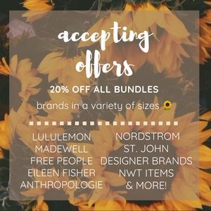 🌻🌻🌻 accepting reasonable offers!
